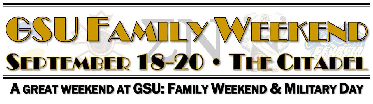 GSU-Sigma Nu Family Weekend - Fall 2015