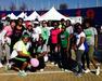 Rho Zeta Omega at the Health Hunger Walk - March 2014