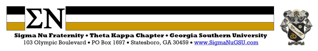 Sigma Nu Fraternity - Theta Kappa Chapter (GSU)