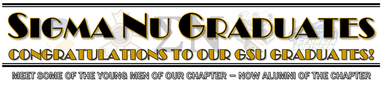 Sigma Nu - Theta Kappa Graduates - New Chapter Alumni