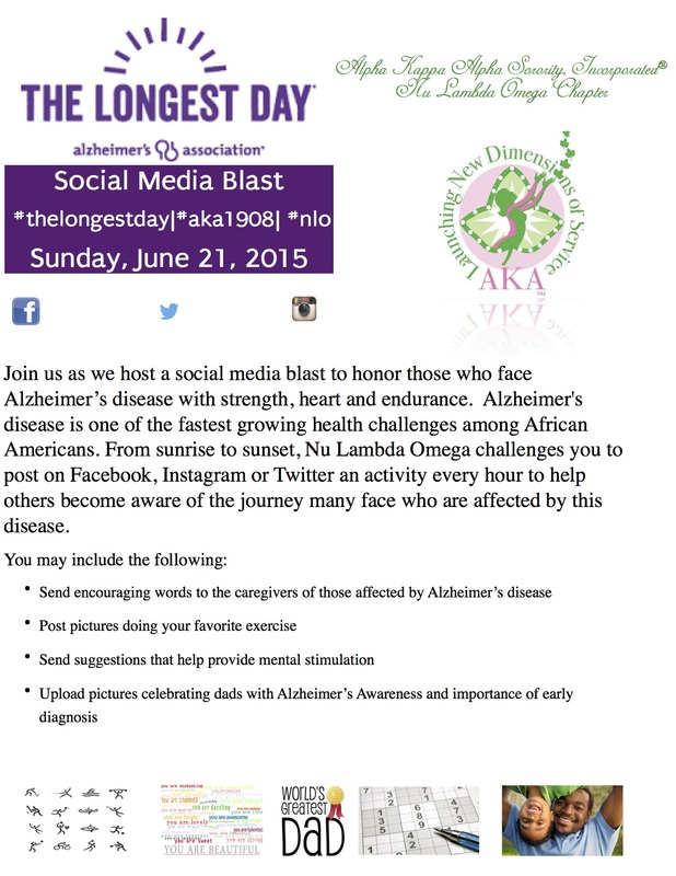 Please takeover social media and enlighten the world about the disease Alzheimer.