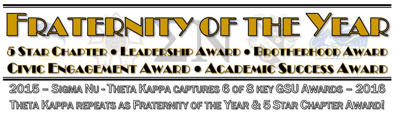Sigma Nu Fraternity wins Fraternity of the Year for 2nd Year in a Row