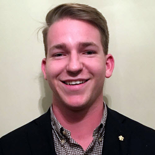 Tyler Clack, Sigma Nu Recruitment Officer
