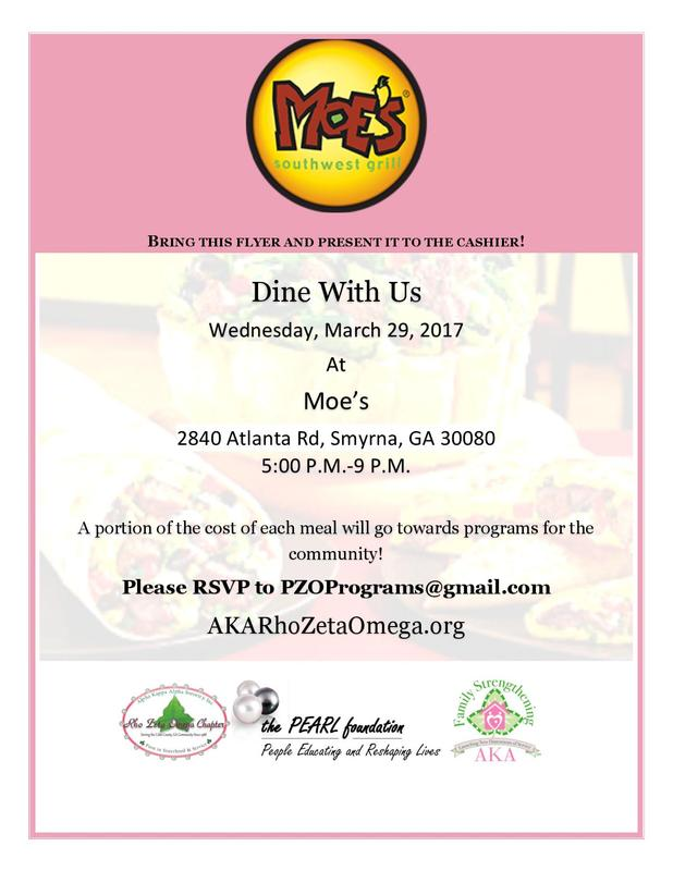 Moes Dine-Out Flyer