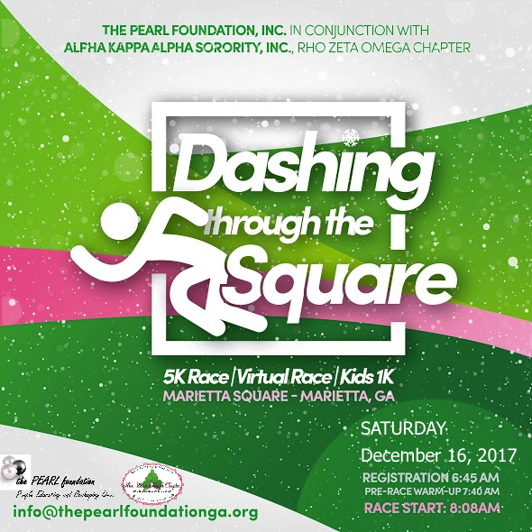 Dashing Through the Square 2017 Flyer