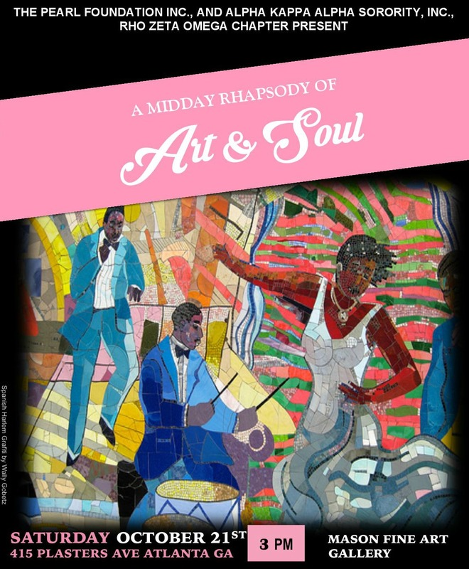 A MidDay Rhapsody of Art and Soul Flyer