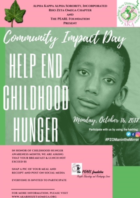 Community Impact Day for Childhood Hunger 2017