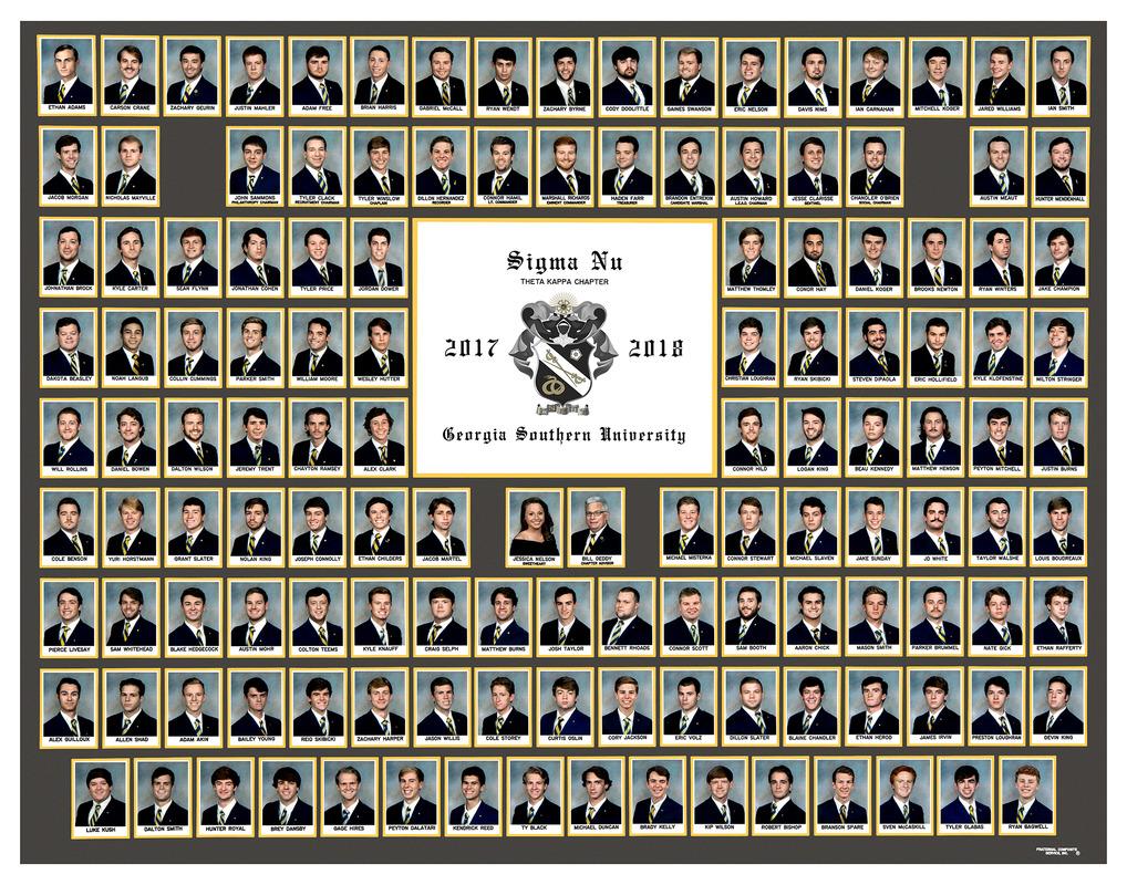 2017-2018 Theta Kappa Chapter Composite