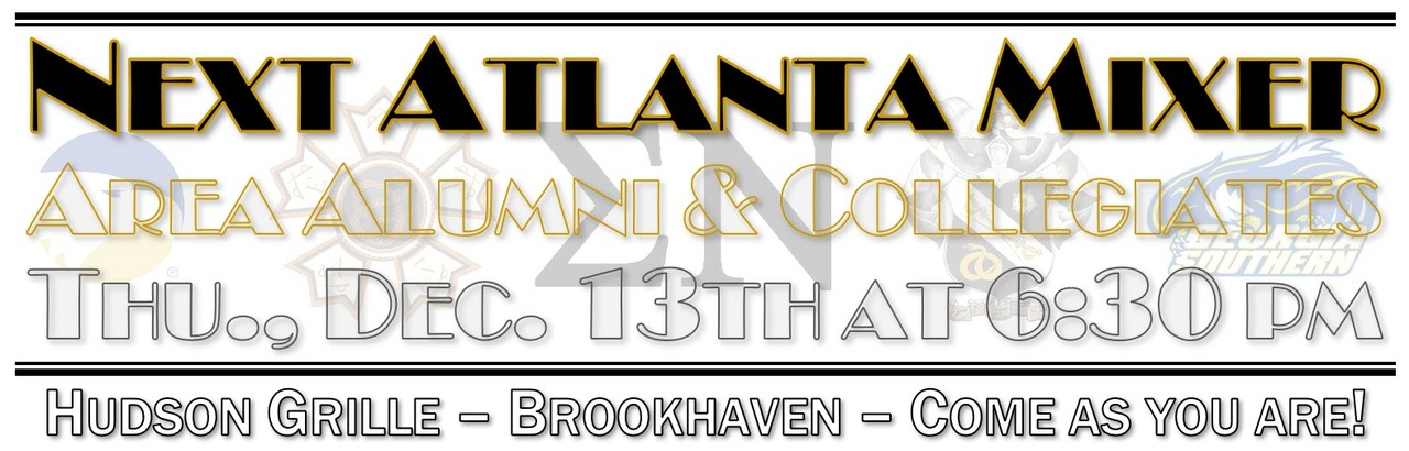Atlanta Mixer for Alumni & Collegiates