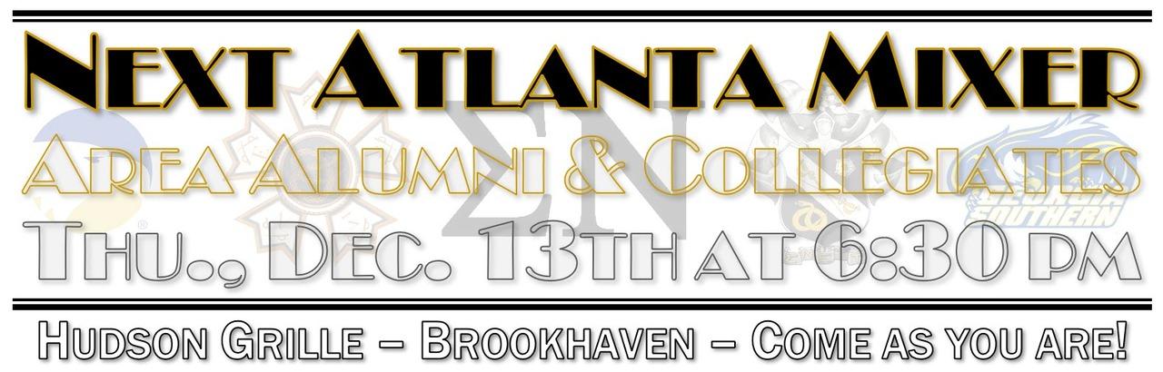 Atlanta Mixer for Alumni & Collegiates
