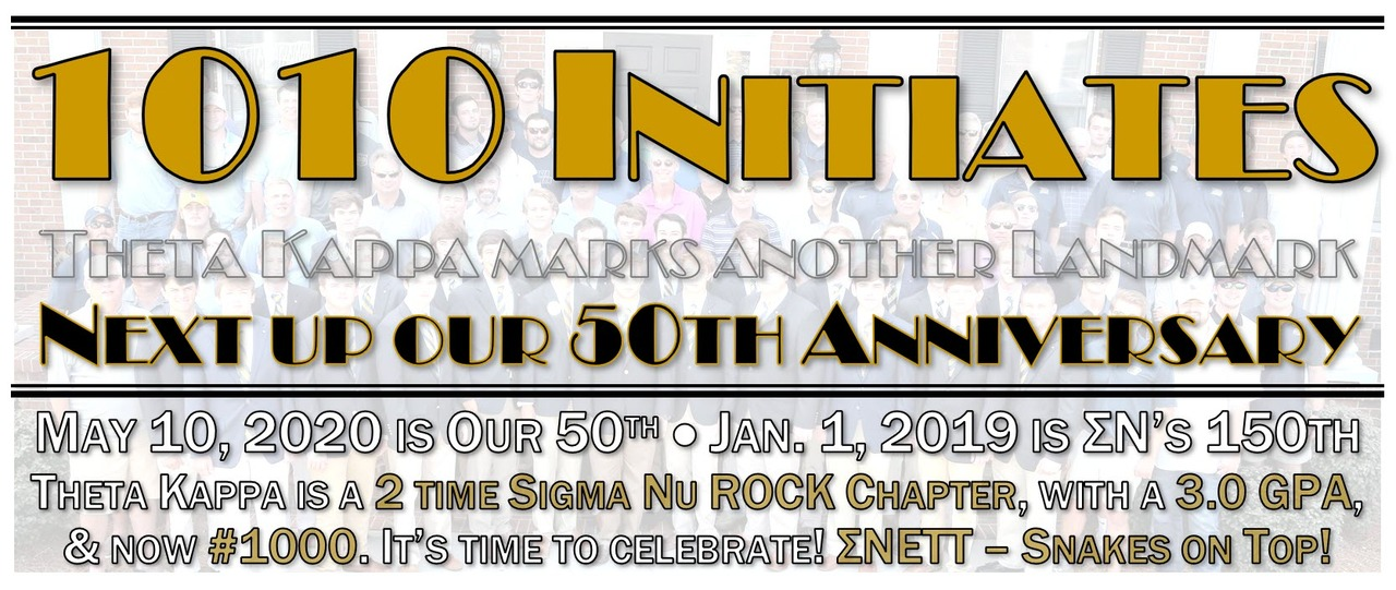 1010 Initiates now on to the 50th
