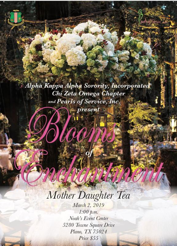 2019 Mother Daughter Tea