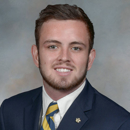 Chandler O'Brien, Sigma Nu Commander