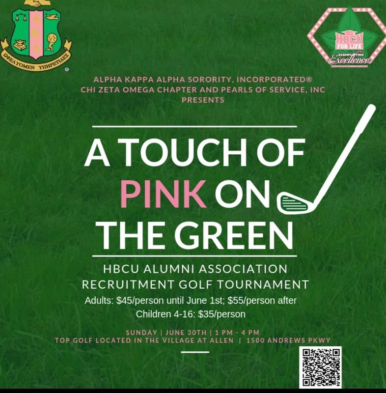 for tickets and donations  [Click here][1]     [1]: https://www.eventbrite.com/e/2019-hbcu-4-life-a-touch-of-pink-on-the-green-tickets-62073522577