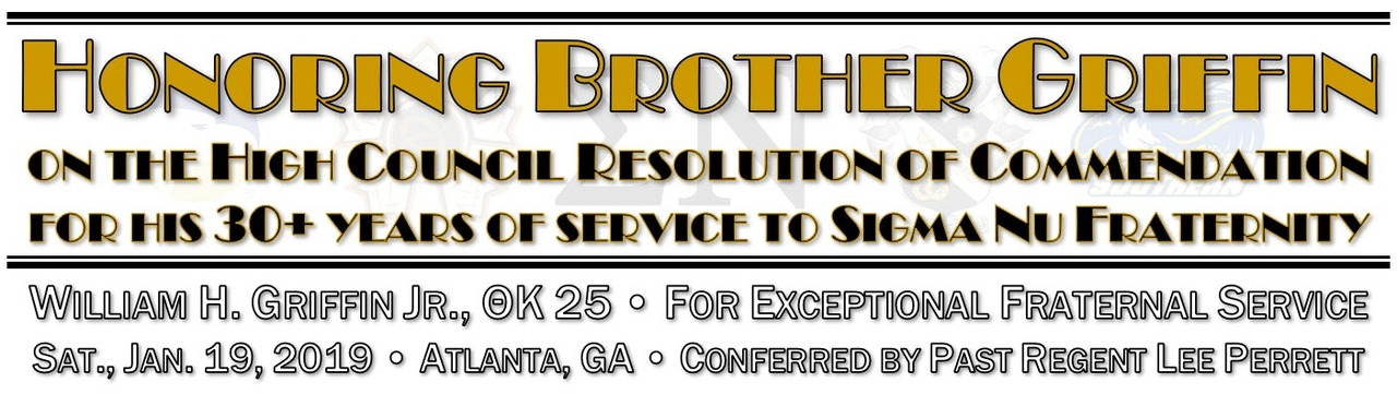 Honoring Brother Griffin