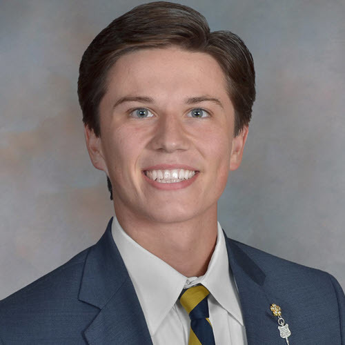 Ethan Childers, Sigma Nu Co-Recruitment Officer