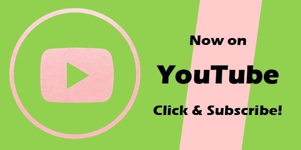 "Banner image of a stylized, pink YouTube logo with the words ""Now on YouTube; Click & Subscribe""; designed to call-out the new YouTube channel for the Alpha Kappa Alpha Sorority, Inc. Rho Zeta Omega Chapter."